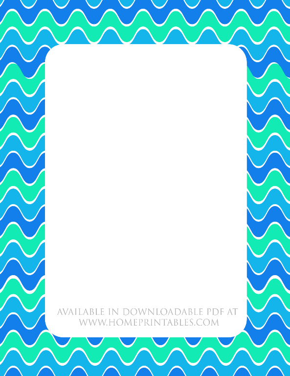 free nautcal themed border for stationery