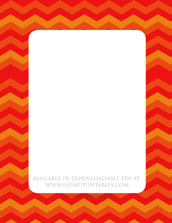 free stationery border to print