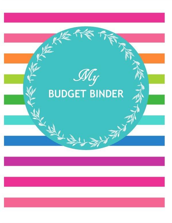 budget-binder-printable-free printable