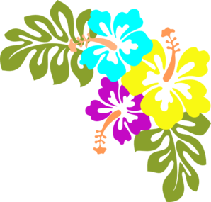 hawaiian clipart free
