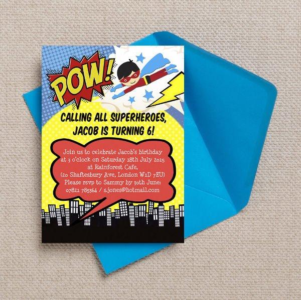 free-superhero-party-printable