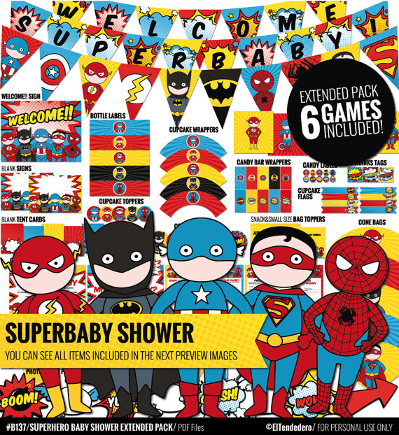 super-hero-baby-shower