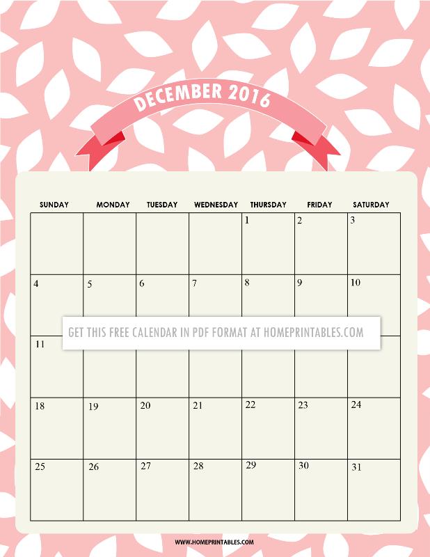 free-december-calendar