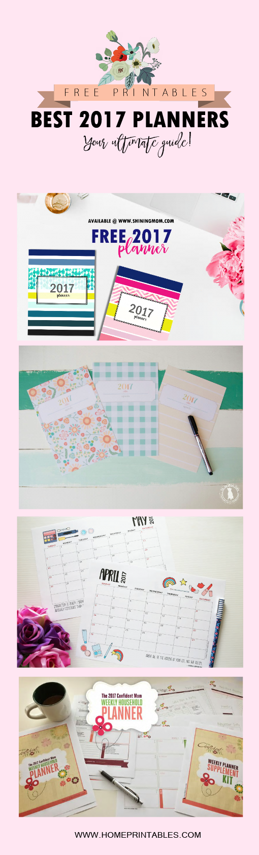 2017 free planner printables