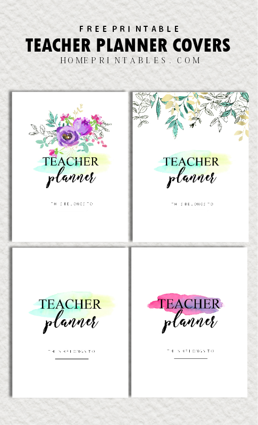 Influential image pertaining to free printable teacher planner