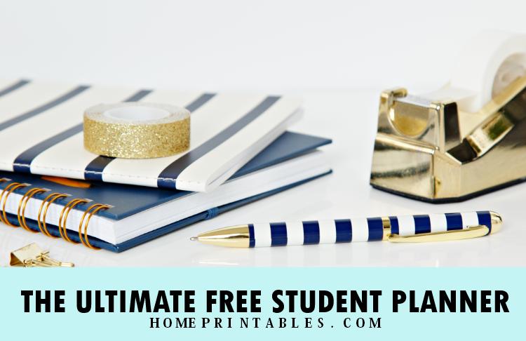 free student planner