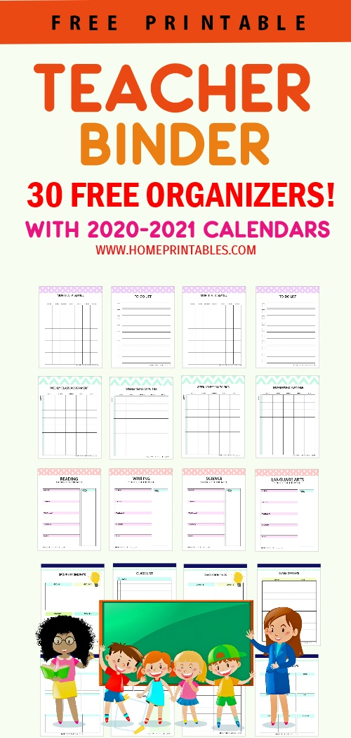 photograph relating to Teacher Binder Printables named Instructor-binder-printable - Household Printables