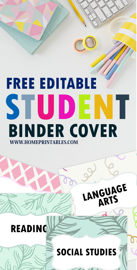 school student binder divider