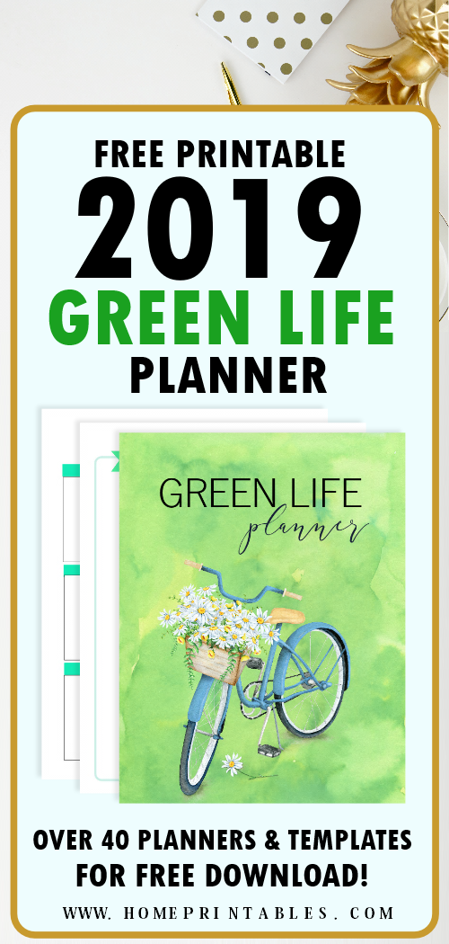 2019 planner free printables