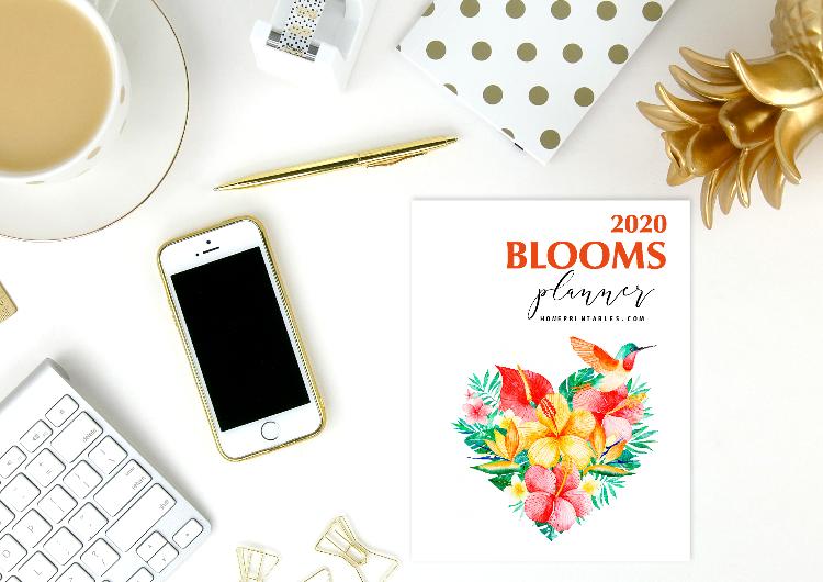 2020 monthly calendar planner