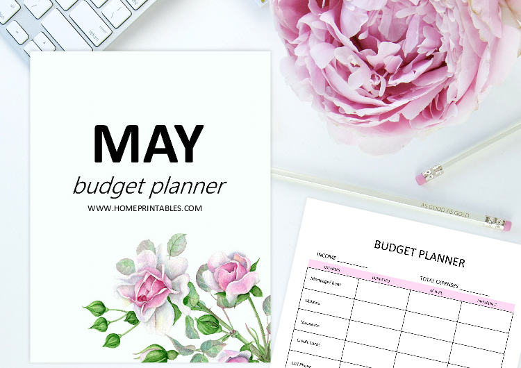 May budget planner
