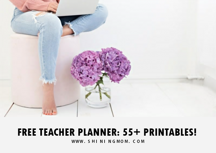 free teacher planner printable