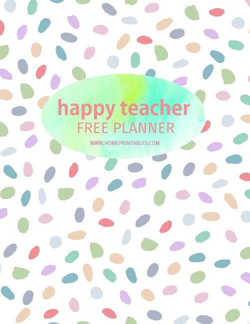 teacher planner free printable