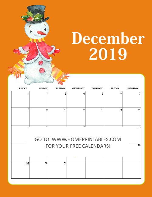 December 2019 Christmas Calendar