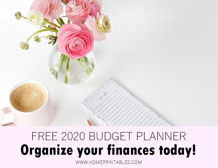 free printable budget binder for 2020