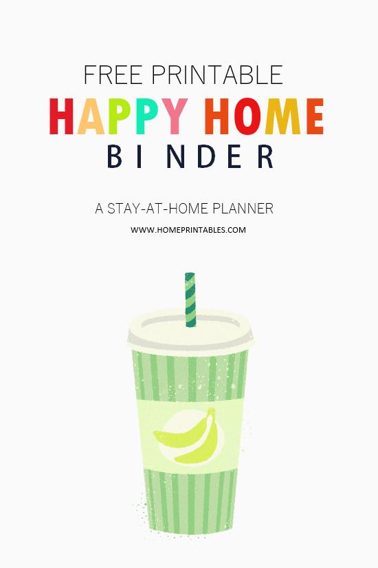 Home Binder Free Printable