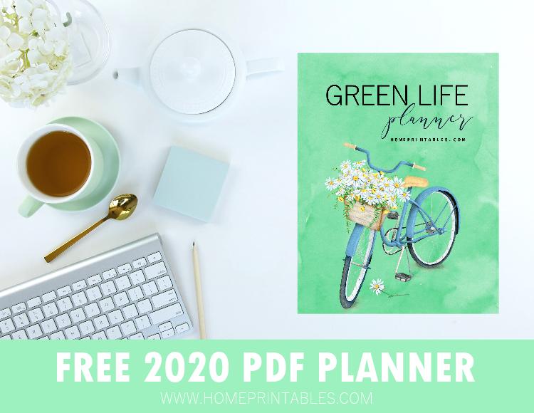 free printable planner 2020 PDF