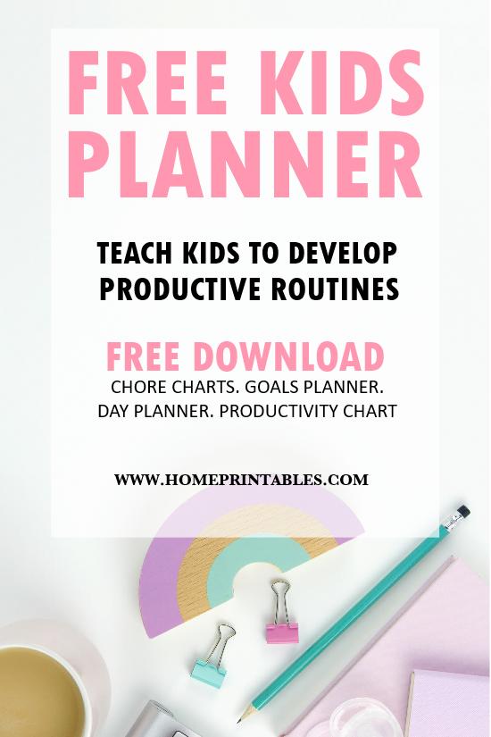Planner for Kids