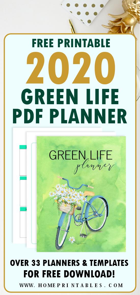 printable planner 2020 PDF