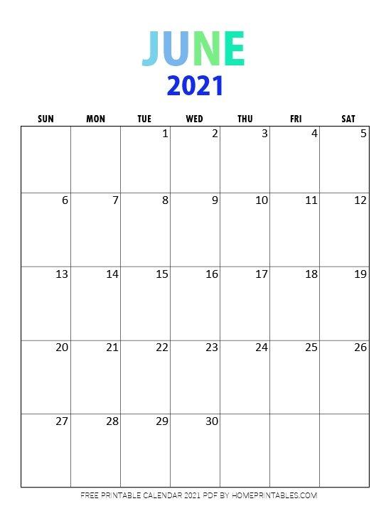 Top List of Best Free Printable 2021 Calendar PDF