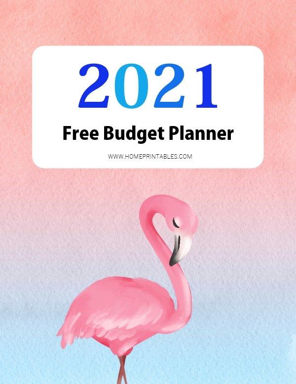 free budget planner 2021